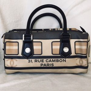 CHANEL 31 Rue Cambon Central Station Duffle Bag